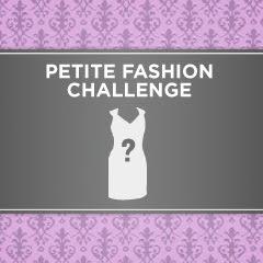 "Petite Fashion Challenge #6 : ""Dress Up Your Basics"""