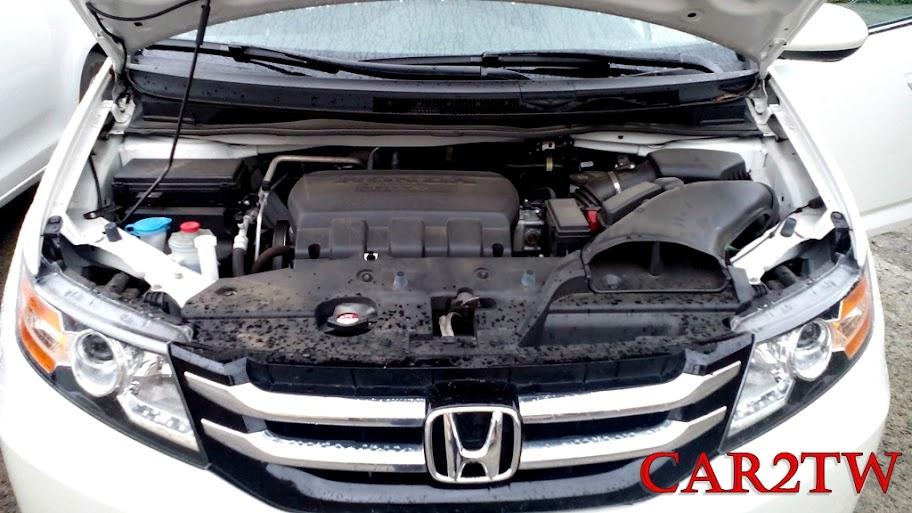 Honda Odyssey引擎室