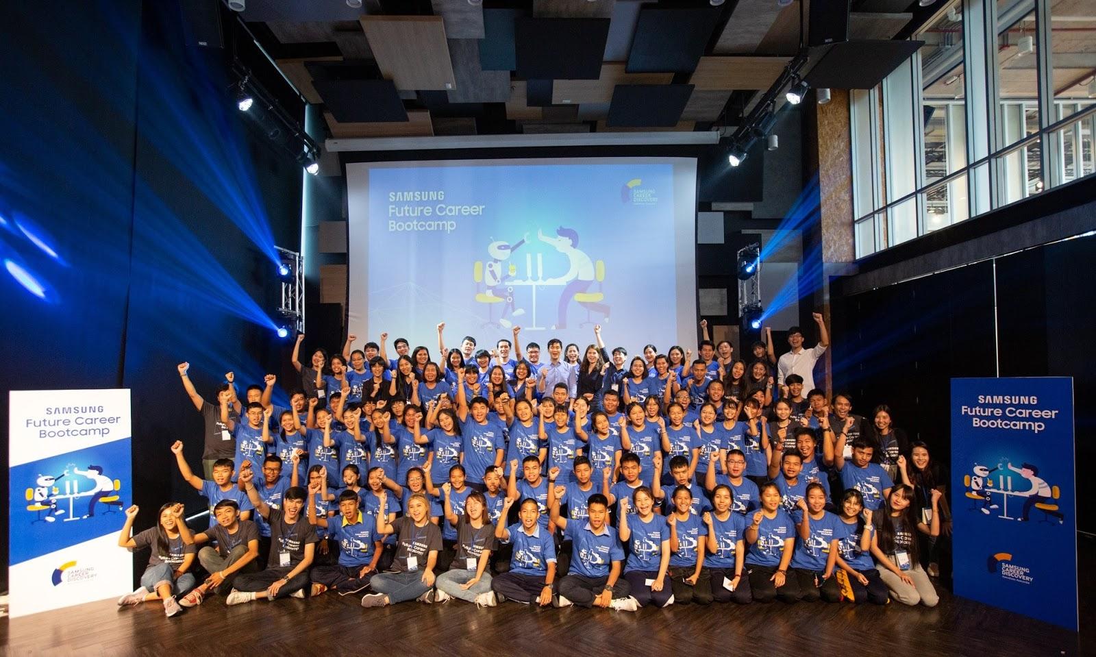 Samsung จัดค่าย Future Career Bootcamp  หนุนเด็กมัธยมพัฒนาทักษะ รับมือเทคโนโลยีเปลี่ยนโลก AI-Big Data-Automation