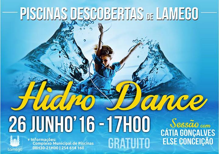 Sessão de Hidro Dance - Piscinas Descobertas de Lamego - 26 de junho