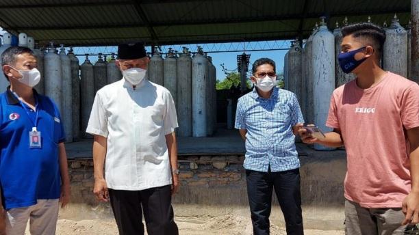 Dapat Bantuan Oksigen 30 Ton, Mahyeldi: Terima Kasih Gubernur Riau