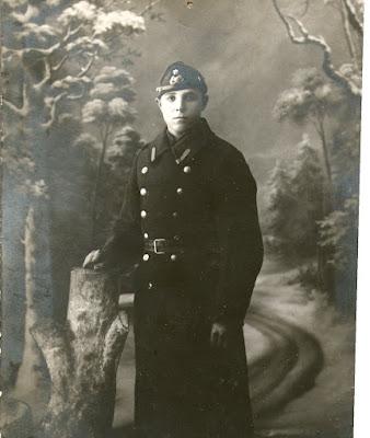 Владимир Грибов (сын Семена) служил в эстонской армии.(из личного архива Арно Пяристе)