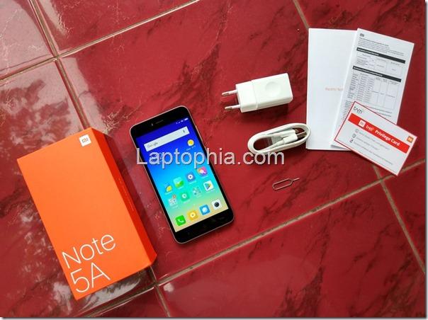 Paket Pembelian Xiaomi Redmi Note 5A