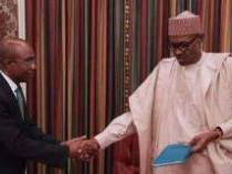 President Buhari holds closed door meeting with CBN governor, Godwin Emefiele