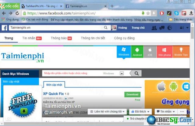 Tải cài đặt Cốc Cốc - Trình lướt web free cho Windows + Hình 4