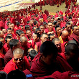 Massive religious gathering and enthronement of Dalai Lama's portrait in Lithang, Tibet. - l60.JPG