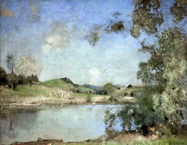 Edward Arthur Walton - The Mill Pond