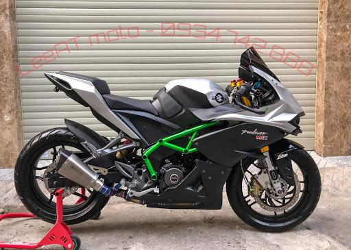 Pulsar RS 200 to Kawasaki ninja H2r