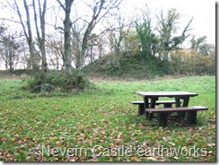 Nevern Castle earthworks geograph org uk