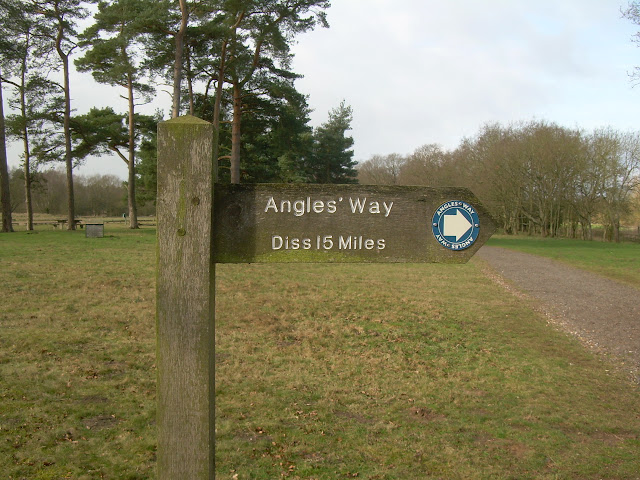 Angles Way trailhead