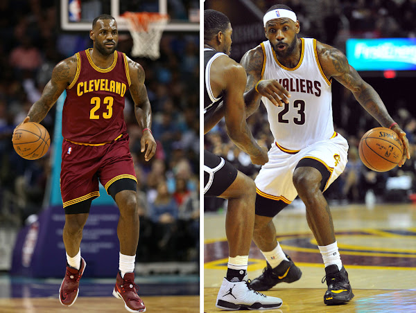 LBJ Debuts Mulberry PE in Charlotte Hits Game Winner vs Brooklyn