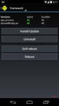 Hướng dẫn Mod icon Pin bằng Xposed Installer