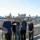Od lewej: Franek, Janek, Andrew, Stachu