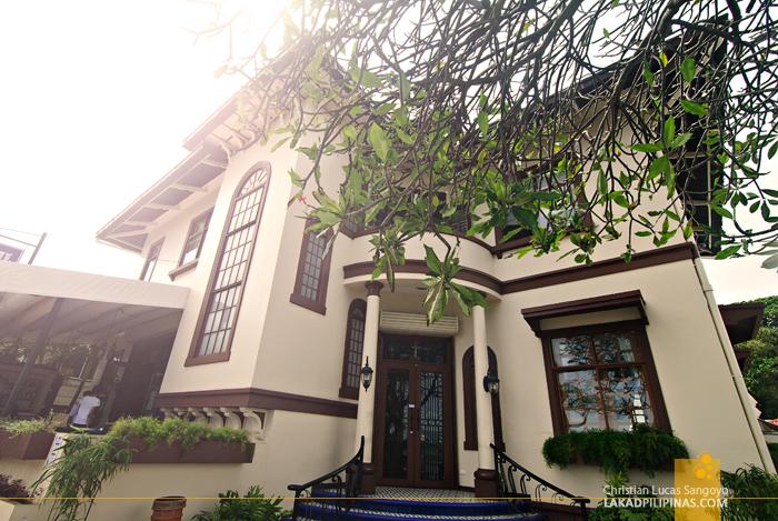 Facade of Dumaguete's Sans Rival Bistro