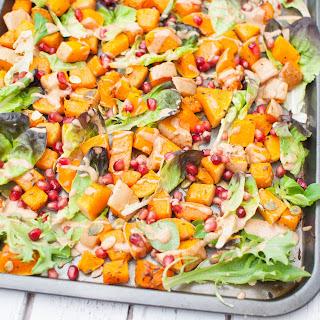 Clean Eating Butternut Squash Salad