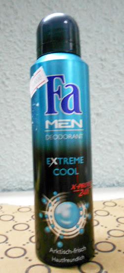 Xịt khử mùi Fa MEN deodorant extreme cool