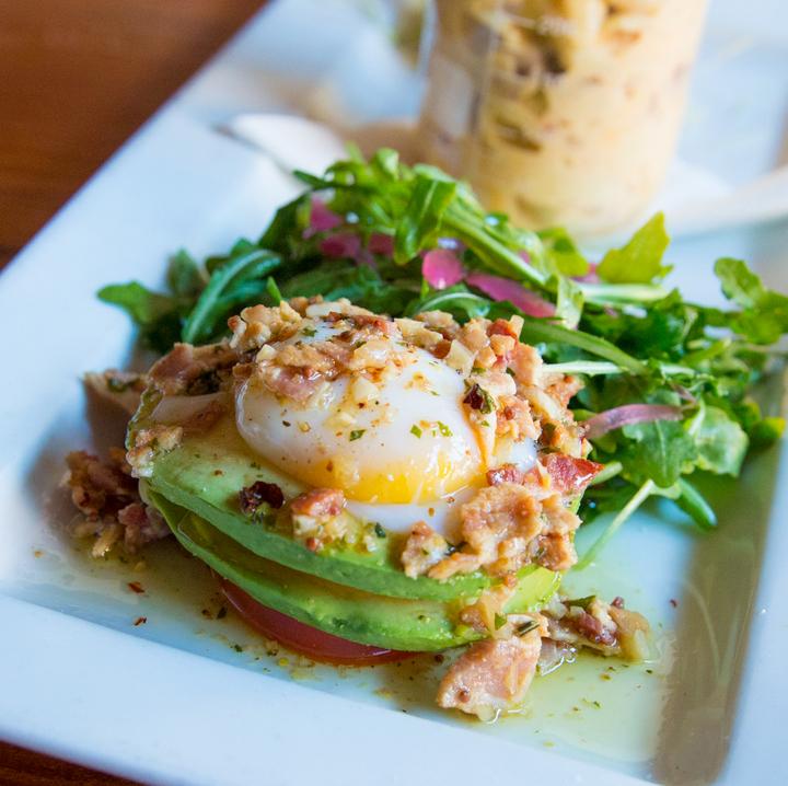 photo of a BLT Avocado Egg Salad