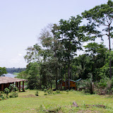 Ebogo et la rivière Nyong. Cameroun, 8 avril 2012. Photo : J.-M. Gayman