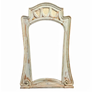 Shabby Chic Large Floor or Wall Mirror
