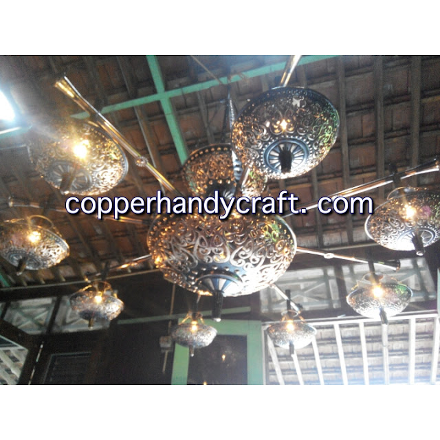 coco art lampu tembaga dan kuningan
