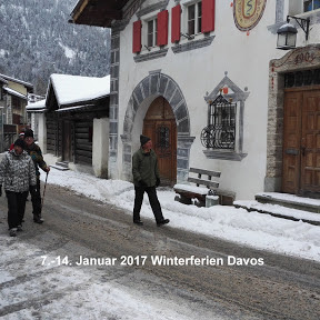 Winterferien Davos