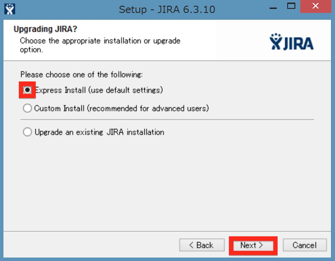 JIRA Install 02