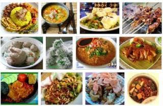 gambar makanan minuman enak Indonesia