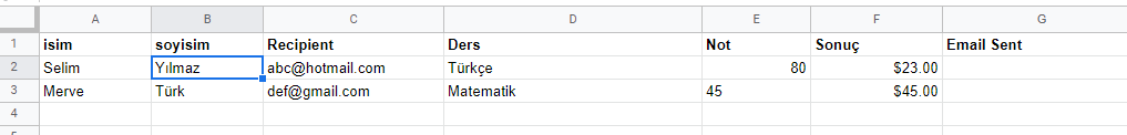 google-sheets-kisi-bilgileri
