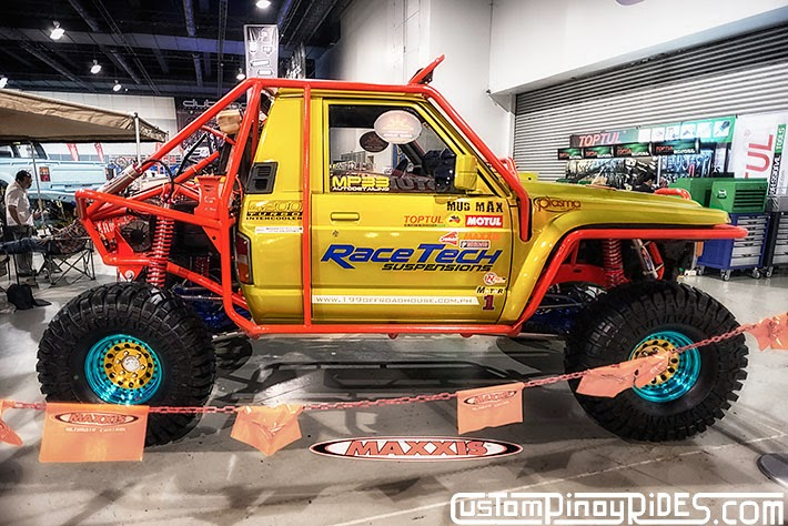 Some of the Best Modified 4x4s of 2013 Manila Auto Salon Custom Pinoy Rides Car Photography Philippines Philip Aragones Toyota LC70 Exocage1