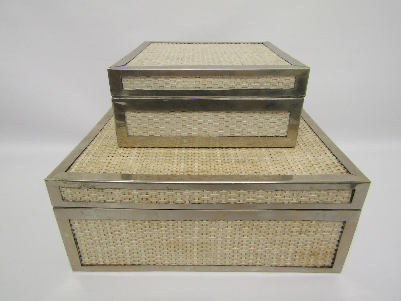 Woven Box Pair