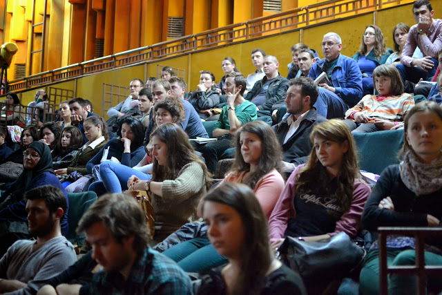 062 Avva Justin Parvu si Sfintii inchisorilor (Teatrul Luceafarul, Iasi, 2014.03.19)