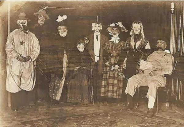 Fantasias macabras de Halloween