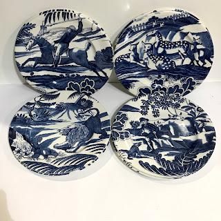 "Tiffany & Co. ""Menagerie"" Salad Plate Set"