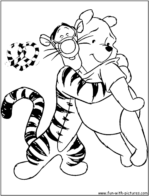 Disney Valentine Coloring Pages  Free Printable Colouring Pages For Kids  To Print And Color In