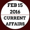 Current affairs 2016