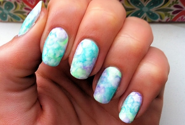 10 Latest Water Color Nail Art For 2016 Fashionte