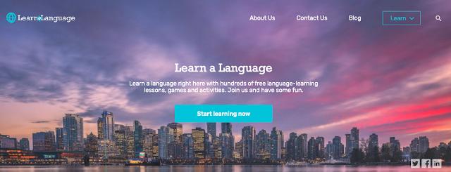Centenas de aulas, jogos e atividades de aprendizagem de línguas gratuitas
