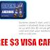 Free $3 Visa Card!