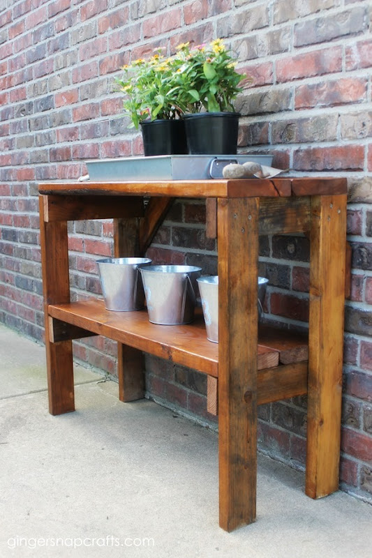 garden bench #diy #tutorial