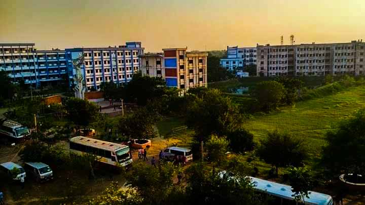 Pabna University of Science and Technology (PUST) campus