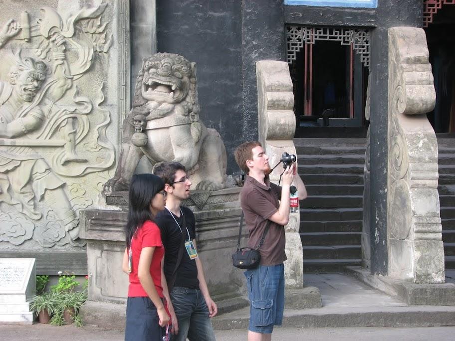 Lucie, Ben et Nico.