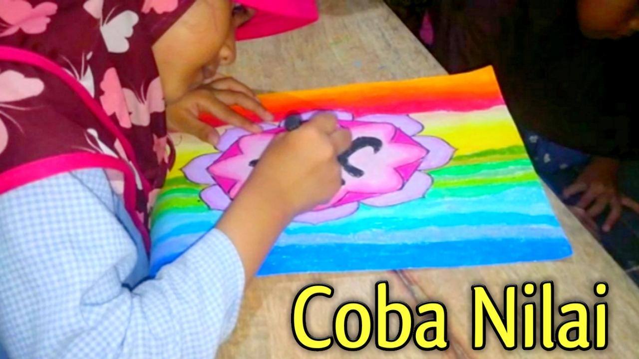 Sudut Color Mewarnai Kaligrafi Yang Bagus