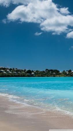 Hình nền bãi biển xanh mướt dành cho Huawei GR5