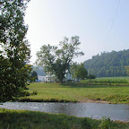 A beautiful picture of THE WILLOWS with Cripple Creek in the foregroundWythe County, Virginia