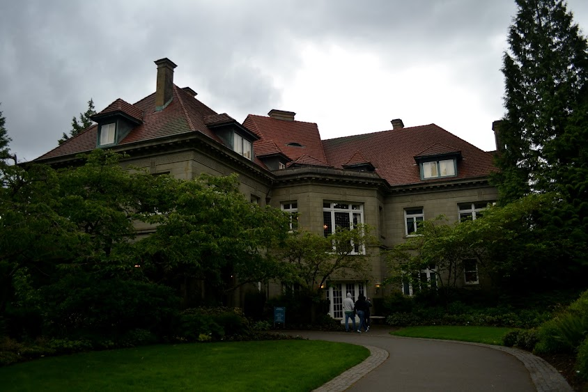 Особняк Питтока, Портленд, Орегон (Pittock Mansion, Portland, OR)