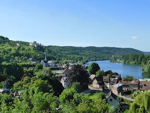 Photo: La boucle de Seine devant le Petit Andely et le Château Gaillard.