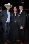 *Federico Munoz, Carol Arnold and Dr. Kenton Arnold, Texas Horse Park board member.
