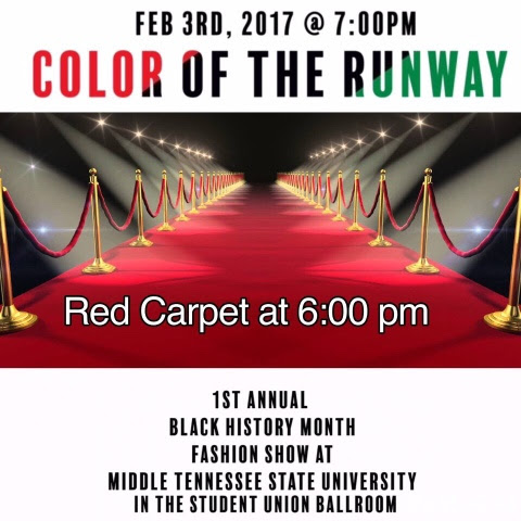 MTSU 1st Black History Month Fashion Show