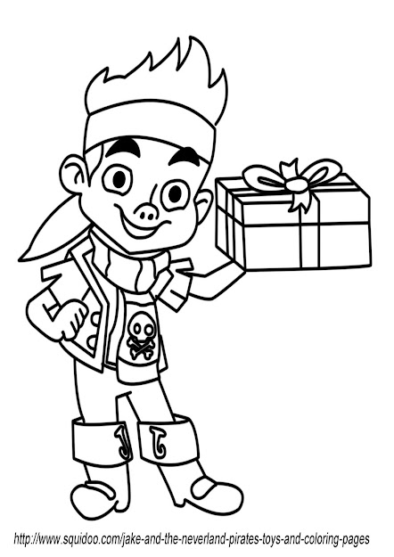 Jake And The Neverland Pirates Free Birthday Printables Fantasy Coloring  Page
