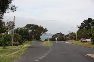Photo: Year 2 Day 163 -  Eden Town is Sat on Top of a Hill, With a Drop Off to the Sea
